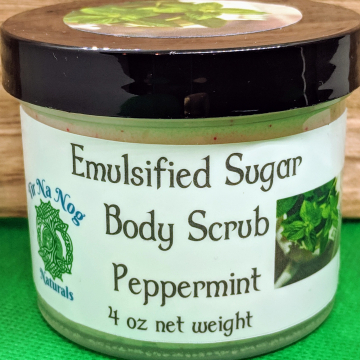 Emulsified Sugar Scrub 4 oz